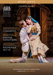 Concerto / Enigma Variations / Raymonda Act III (The Royal Ballet)